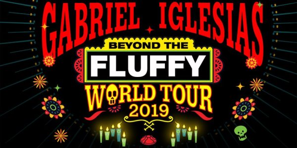 None - Win tickets to see Gabriel Iglesias Beyond The Fluffy World Tour - Go Big or Go Home