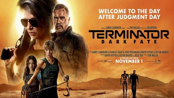 None - Win movie passes to see Terminator Dark Fate!