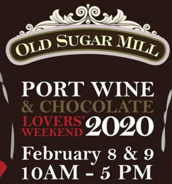 None - Win a Pair of VIP Tickets to Old Sugar Mill's Port Wine and Chocolate Lovers' Weekend!
