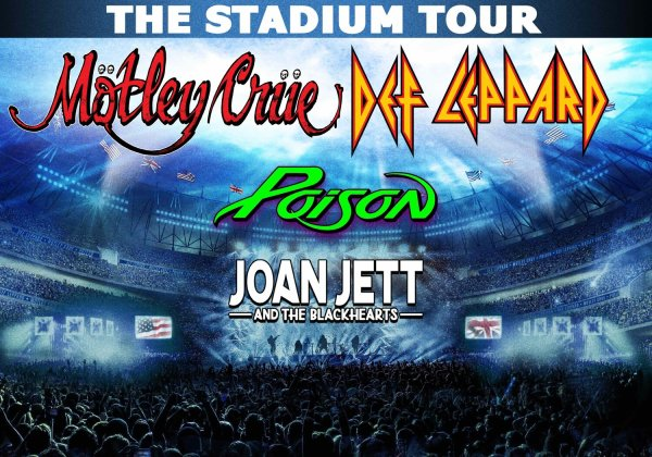 image for Win tickets to see Motley Crue & Def Leppard: The Stadium Tour 2020!