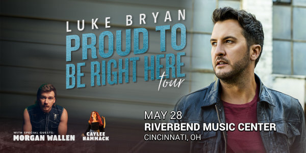 image for Win tickets to see Luke Bryan at Riverbend Music Center!