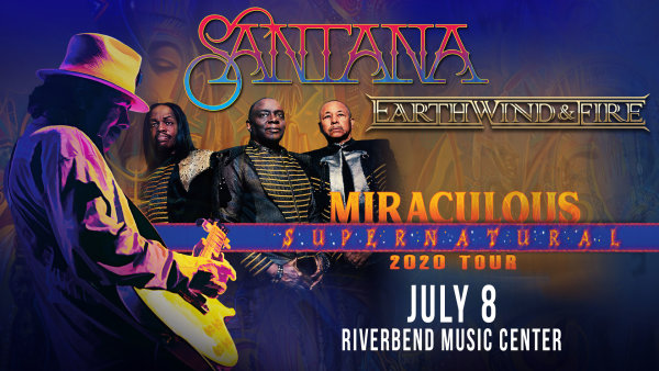 image for Win tickets to see Santana at Riverbend Music Center!