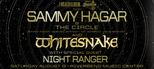 image for Win tickets to see Sammy Hagar & The Circle at Riverbend Music Center!