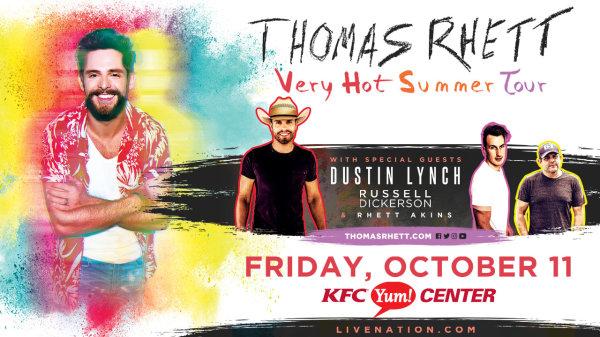 None - Win Thomas Rhett Tickets!