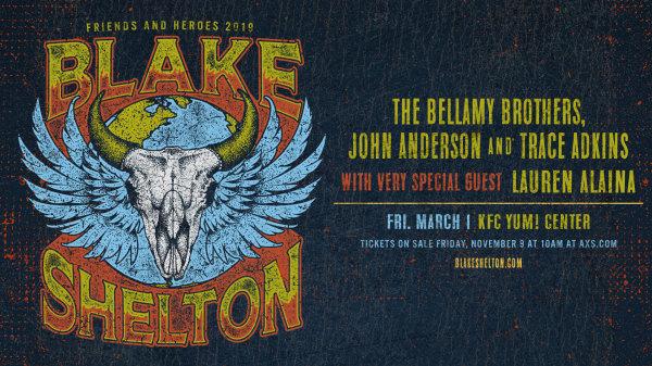 None - Win Blake Shelton Tickets!