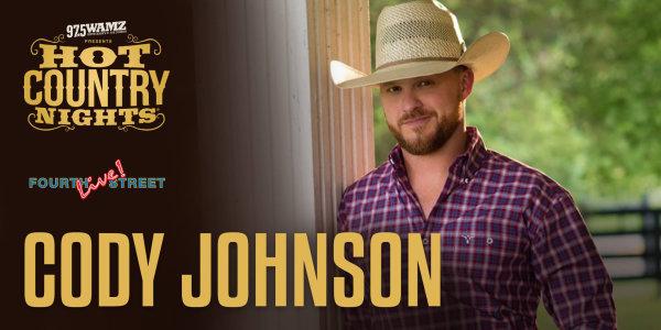 None - Win Cody Johnson Tickets!