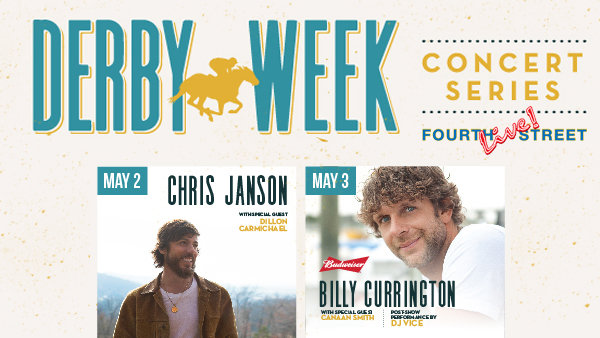 None - Derby Week Concert Series *DAILY DOUBLE* Giveaway!