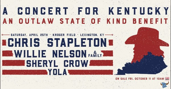None - Win Tickets to see Chris Stapleton at Kroger Field!