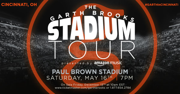 None - Win Garth Brooks Tickets!
