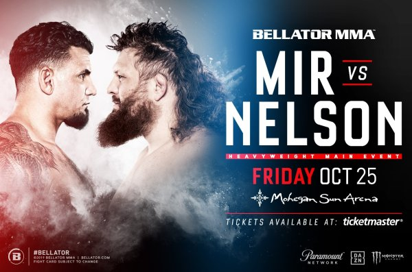 None - Bellator MMA: Enter to win and be our grand prize winner to see Bellator MMA at Mohegan Sun Arena on 10/25 & 10/26!