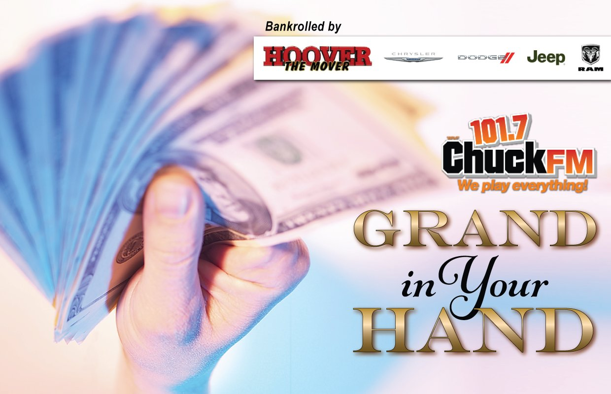 Enter Your Grand in Your Hand Code Word Here! - 101 7 Chuck FM101 7
