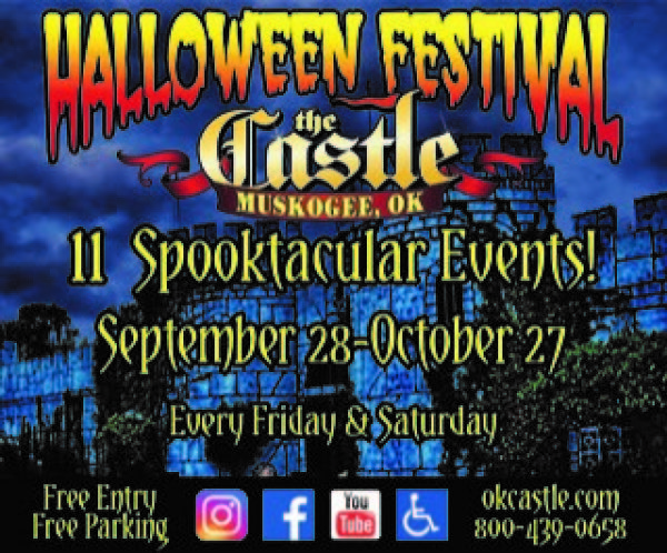 None - Enter To Win Halloween Festival At Castle Of Muskogee Tickets!