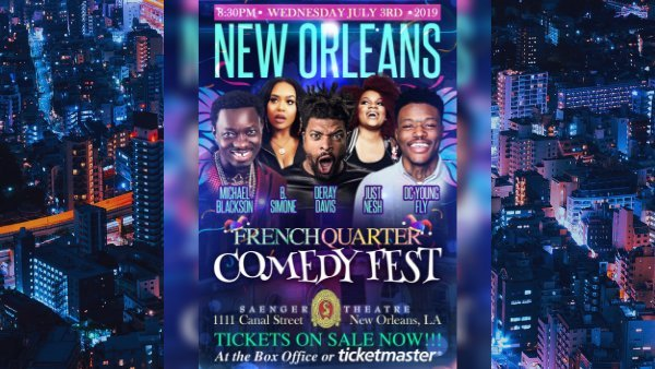 None - French Quarter Comedy Fest