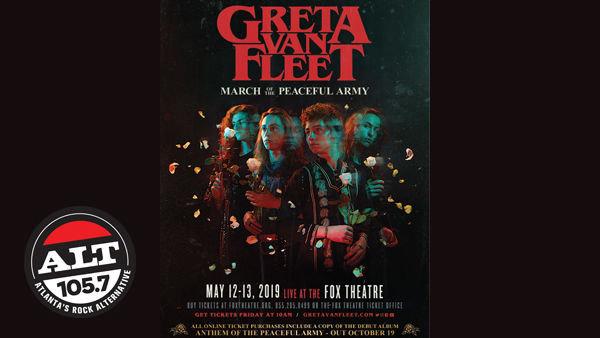 None -     Enter to Greta Van Fleet NIGHT 2 Tickets!