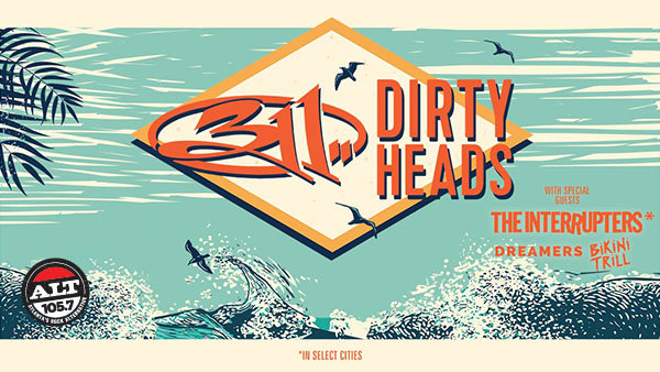 None -          Enter to Win ALT 105.7 Presents 311 With Dirty Heads Tickets!