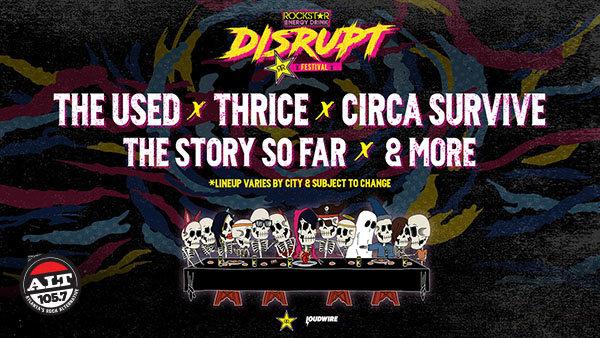 None -   Win Tickets To Disrupt Festival!