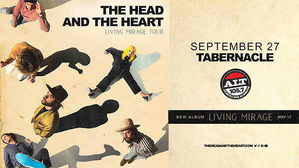 None -           Enter to Win ALT 105.7 Presents The Head and The Heart Tickets!