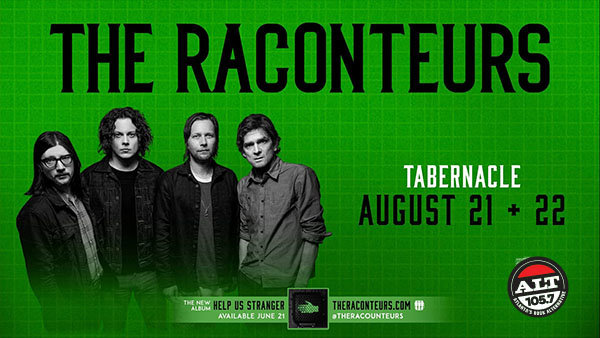 None -     Win Tickets To See The Raconteurs On August 22nd!