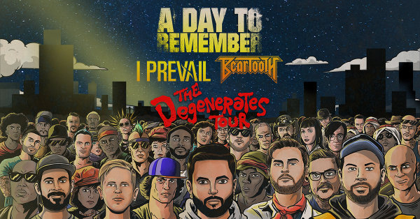 None - Win A Day to Remember Tickets!