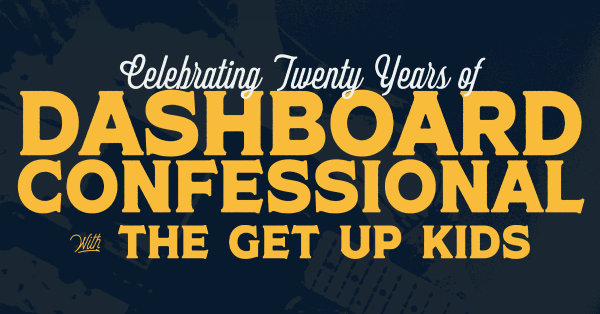 None - Win tickets to Dashboard Confessional!