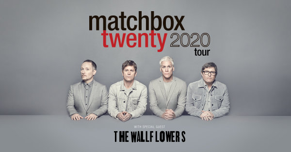 None - Win tickets to Matchbox Twenty with The Wallflowers at Cellairis Amphitheatre at Lakewood!