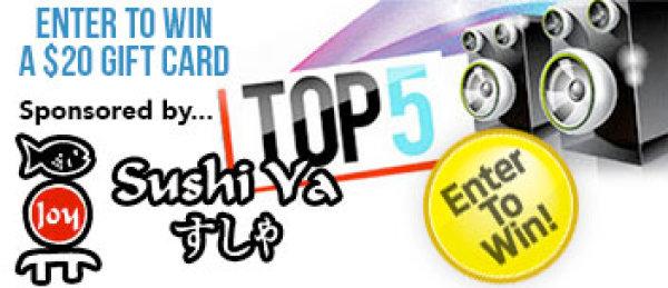 None - Top 5 With Sushi Ya