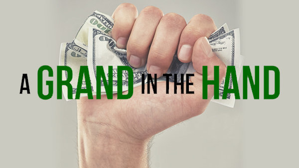 None -  Grand in the Hand $1,000 Cash Contest