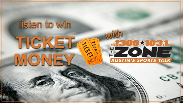 None - You Could Win Ticket Money with AM 1300/103.1 FM The Zone!