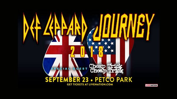Win Def Leppard, Journey and Cheap Trick Tickets