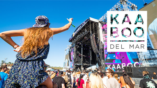 Win KAABOO Del Mar 1-Day Passes
