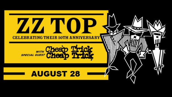 None - Win ZZ Top with Cheap Trick Tickets