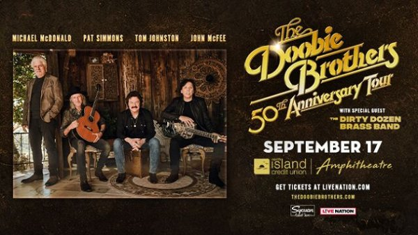 None - Win tickets to The Doobie Brothers