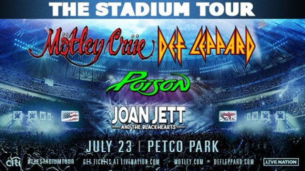 None - Win tickets to KGB Presents: Mötley Crüe + Def Leppard