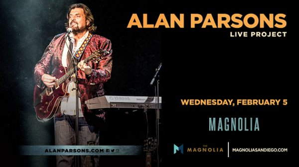 None - Win tickets to The Alan Parsons Live Project at The Magnolia