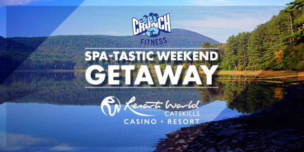 None - The Crunch Fitness Spa-tastic Weekend Getaway at Resorts World Catskills