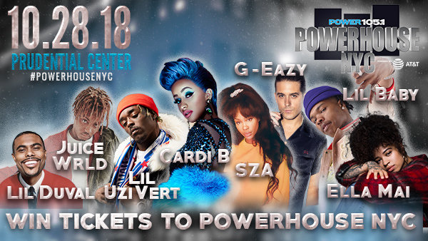 None - Win Tickets to Powerhouse NYC!