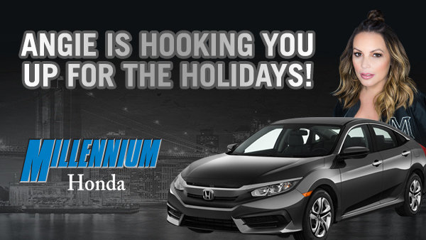 None -  Angie Is Hooking You Up For The Holidays with Millennium Honda!