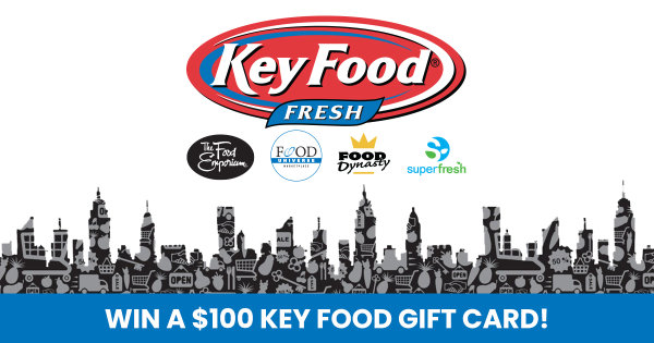 None -   Enter For Your Chance To Win A $100 Gift Card From Key Food