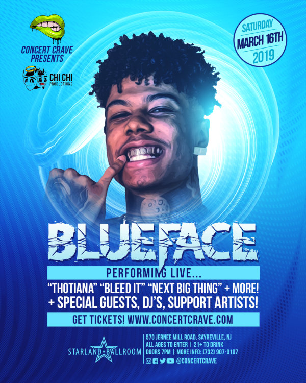 None - Win Tickets to See Blueface!