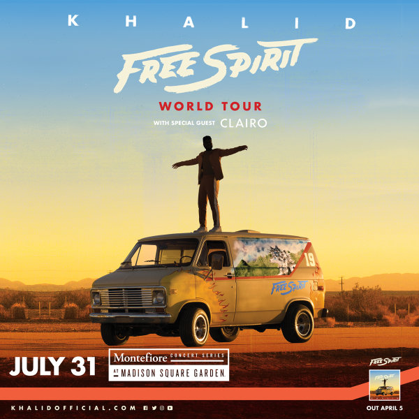 None - Win Tickets To See Khalid at MSG