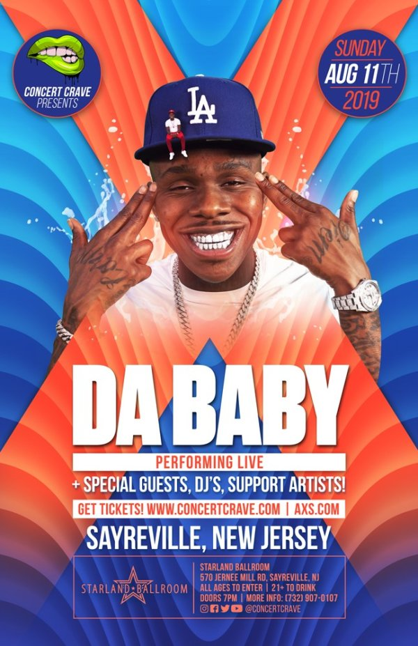 None - Win Tickets to See Da Baby!