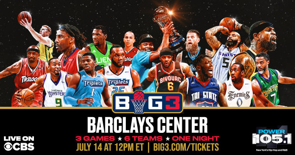 None -  Win Tickets to Ice Cube's Big 3 Basketball League