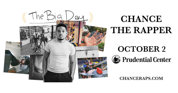 None - Win Tickets to See Chance The Rapper at Prudential Center!