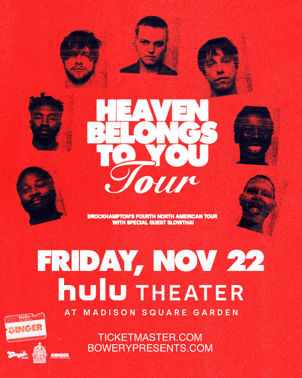 None - Win Tickets to See Brockhampton!