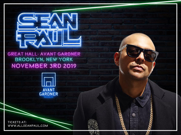 None - Win Tickets to See Sean Paul