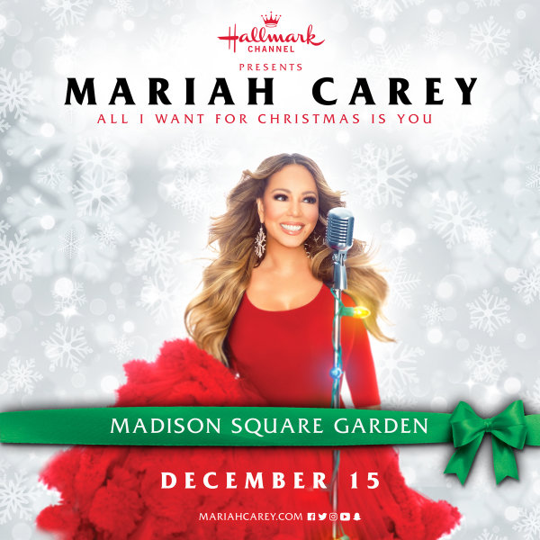 None - Win Tickets to See Mariah Carey This Holiday Season!