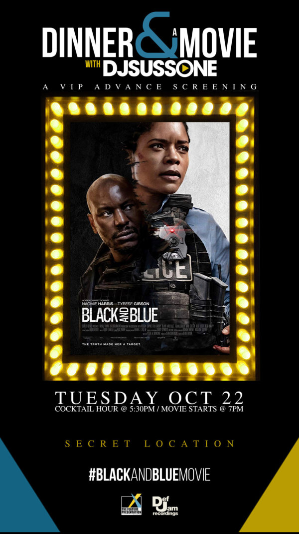 None - Win Tickets to an Exclusive Screening of Black and Blue!
