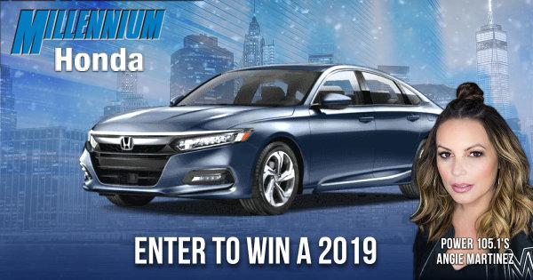 None - Enter to Win a 2019 Honda Accord