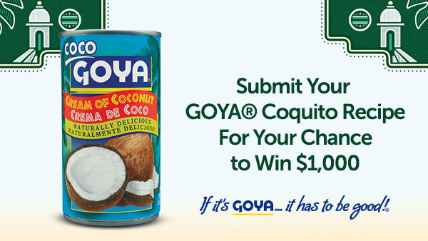 None - Enter Your Coquito Recipe for a Chance to Win $1000 Towards Your Holiday Party