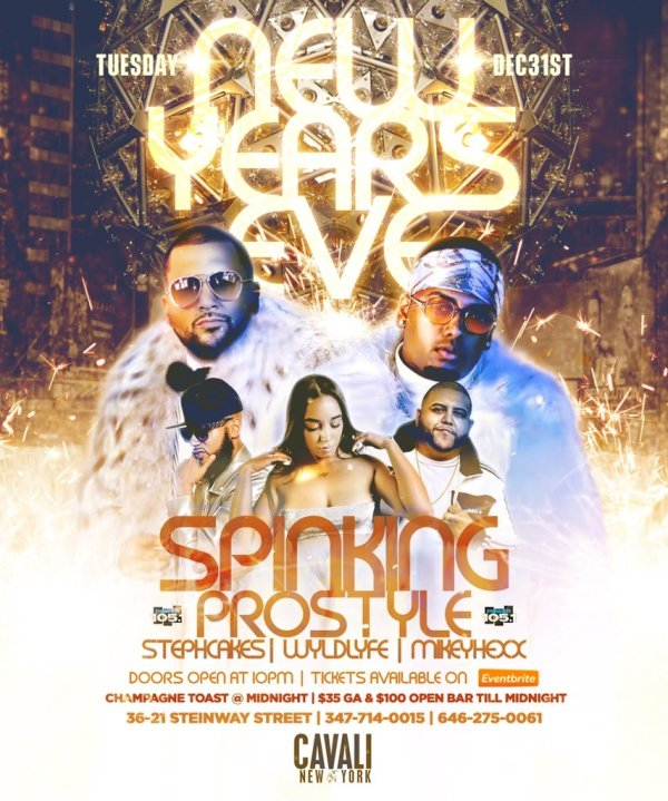 None - NYE at Cavali with SpinKing and Prostyle